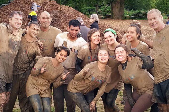 Galldris mud run 2017