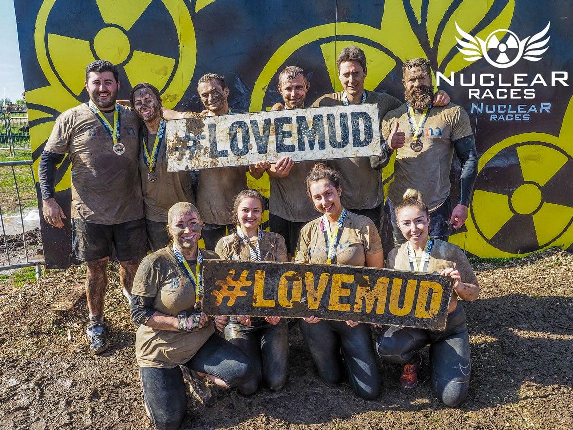 Galldris Nuclear mud run 2018