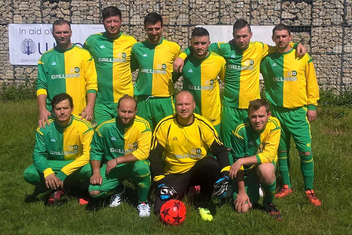Galldris Royal Wharf Football Team