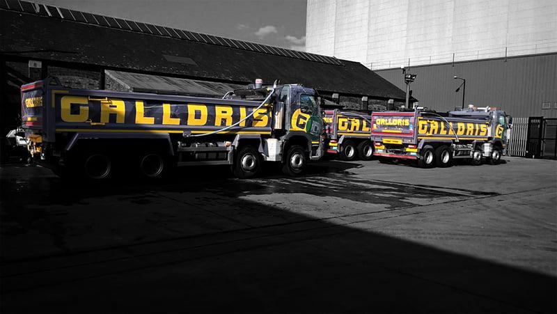 Galldris Volvo FMX wrap