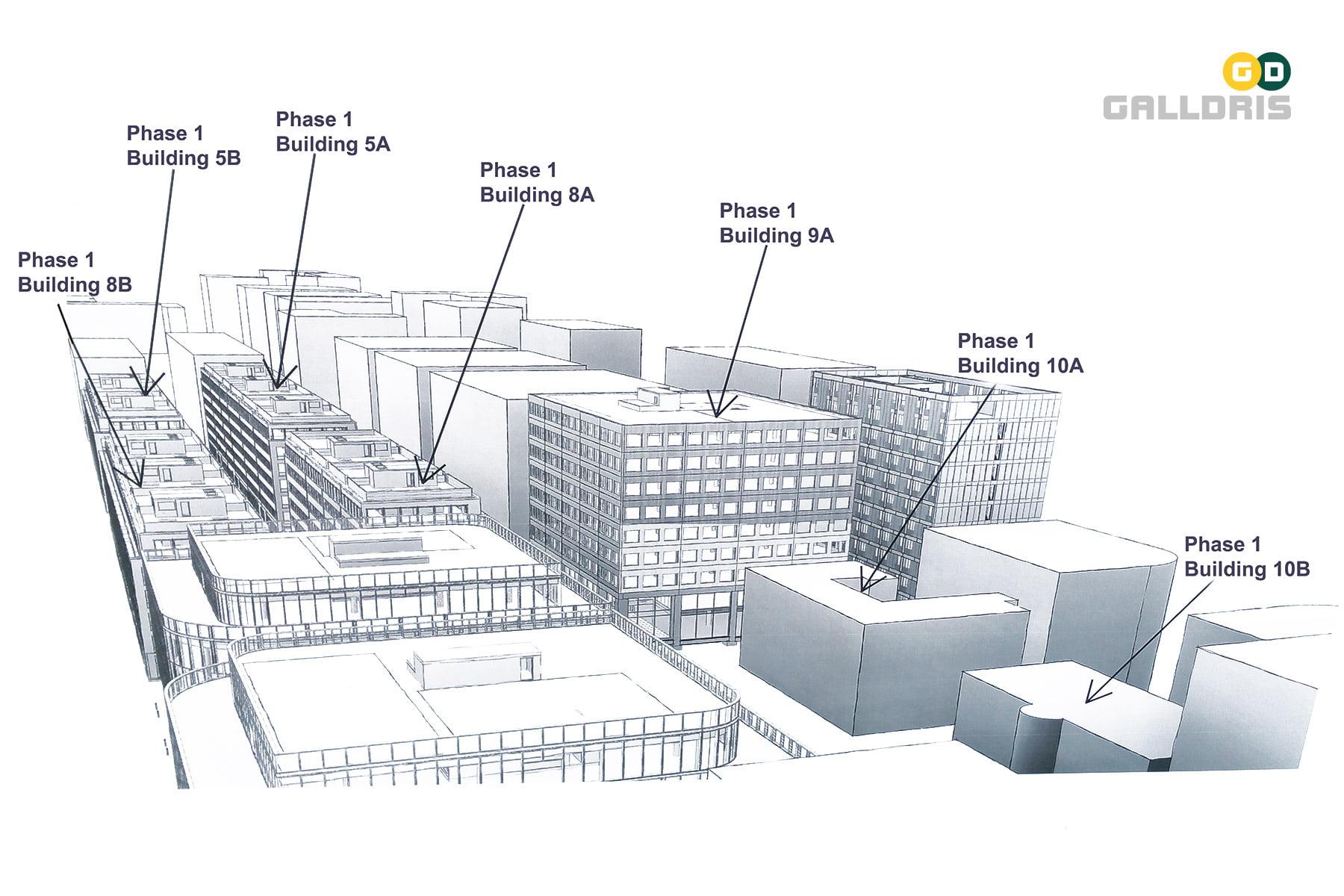Royal Albert Dock Masterplan Galldris